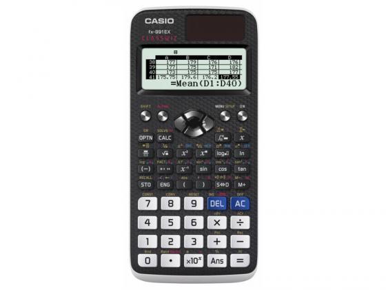 Калькулятор Casio Classwiz FX-991EX 12-разрядный черный калькулятор casio fx 85es plus 12 разрядный черный