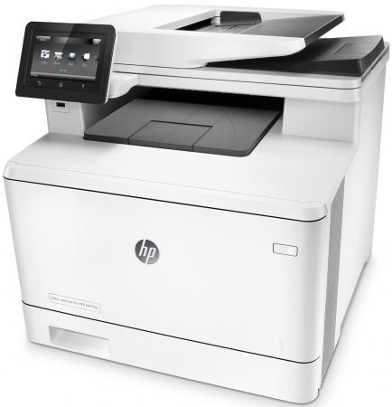 МФУ HP Color LaserJet Pro M477fdn CF378A цветное A4 27ppm 1200x1200dpi Ethernet USB 95% new original laserjet formatter board for hp pro200 m251 m251dn 251nw cf153 60001 cf152 60001 printer part on sale