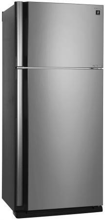 Холодильник Sharp SJXE59PMSL черный холодильник sharp sjxp59pgsl