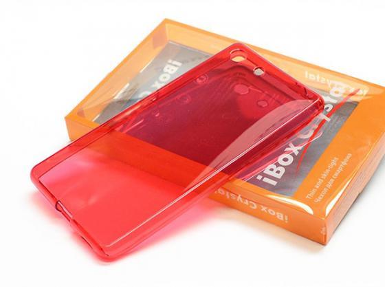 Чехол силикон iBox Crystal для Sony Xperia M5 красный стоимость