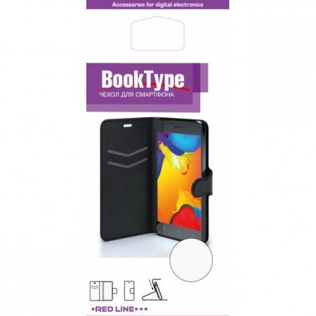 цена на Чехол-книжка Red Line Book Type для Asus ZenFone 2 ZE500CL супер гладкий черный