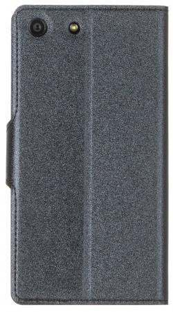 Чехол-книжка Red Line Book Type для Sony M5 лазерная фактура черный чехол книжка red line book для lg spirit красный