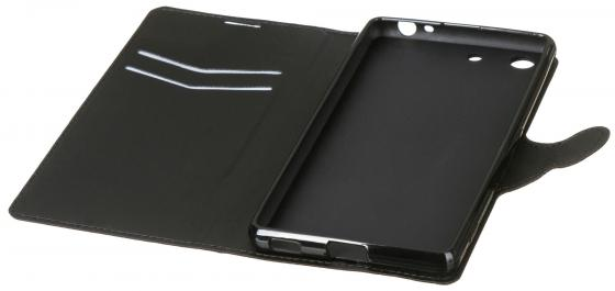 все цены на Чехол-книжка Red Line Book Type для Sony M5 супер гладкий черный онлайн