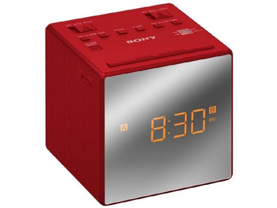 Радиоприемник Sony ICF-C1TR красный радиоприемник rolsen rfm 330