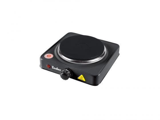 Электроплитка Tesler PE-13 черный tesler pe 23