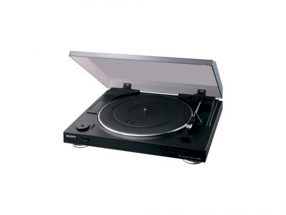 Виниловый проигрыватель Sony PS-LX300USB черный виниловый проигрыватель sony ps hx500