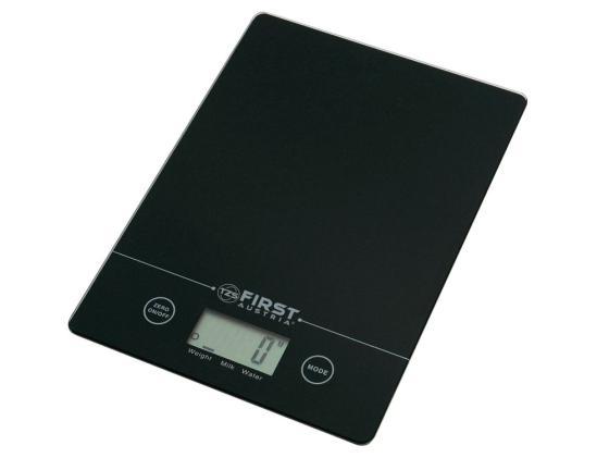 все цены на Весы кухонные First 6400 серебристый чёрный онлайн