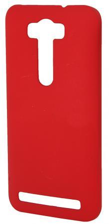 Чехол-накладка Pulsar CLIPCASE PC Soft-Touch для Asus Zenfone 2 Laser (ZE550KL) 5.5 inch (красная) чехол накладка pulsar clipcase pc soft touch для asus zenfone 2 ze551ml 5 5 inch оранжевая
