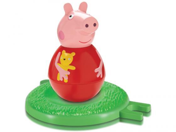 Фигурка Peppa Pig неваляшка Пеппа 2 предмета 28801 фигурка peppa pig неваляшка дедушка пеппы 28800