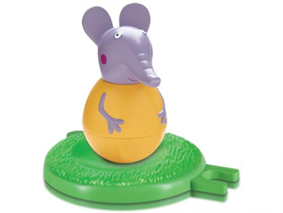 Фигурка Peppa Pig неваляшка слоник Эмили 2 предмета 28804 фигурка peppa pig неваляшка папа пеппы 28798