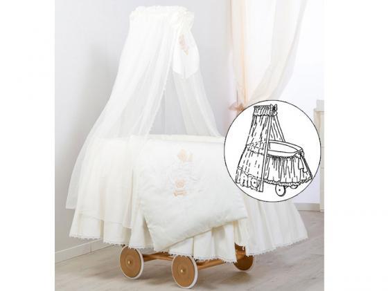 Колыбель класическая Italbaby Sweet Angels 360,0081-6 italbaby покрывало sweet star 65х80 пике italbaby крем
