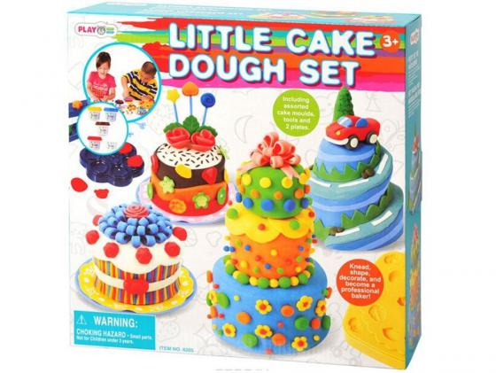 Набор для лепки Playgo Праздничный торт 8205 праздничный атрибут 100 tuxedo