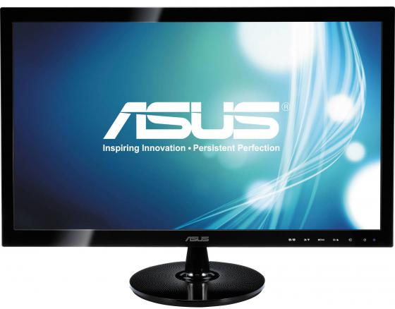 Монитор 24 ASUS VS248HR черный TN 1920x1080 250 cd/m^2 1 ms HDMI VGA DVI Аудио 90LME3001Q02231C- материнская плата asus h81m r c si h81 socket 1150 2xddr3 2xsata3 1xpci e16x 2xusb3 0 d sub dvi vga glan matx
