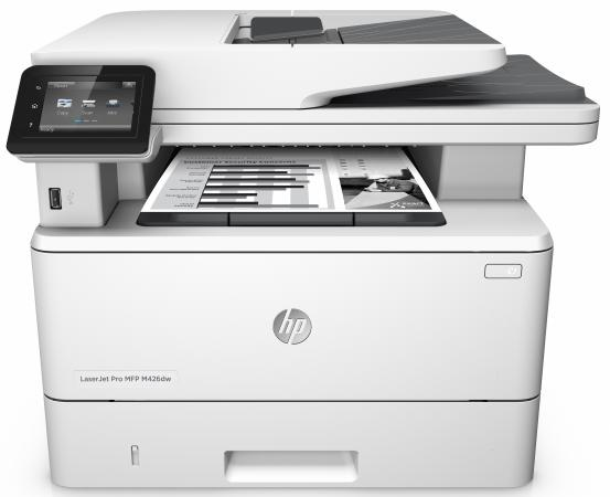 МФУ HP LaserJet Pro M426dw F6W16A ч/б A4 38ppm 600x600dpi Ethernet Wi-Fi USB