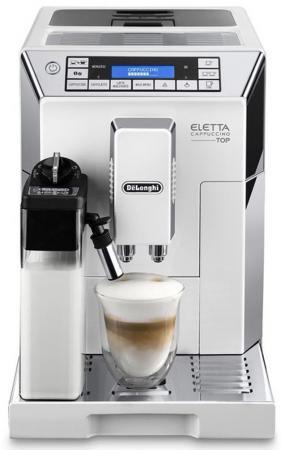 Кофемашина DeLonghi ECAM 45 764 W 1450 Вт белый кофемашина delonghi ecam 23 420 sw