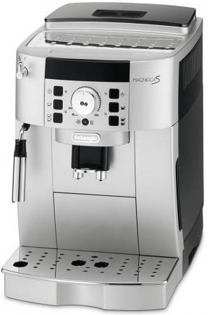 Кофемашина DeLonghi ECAM 22.110 SB 1450 Вт серебристый
