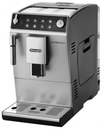 Кофемашина DeLonghi ETAM 29.510 SB 1450 Вт серебристый delonghi autentica plus etam 29 510 sb