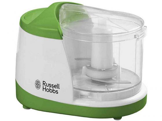Измельчитель Russell Hobbs 19440-56 140Вт белый зелёный кухонный комбайн russell hobbs 19005 56 19005 56