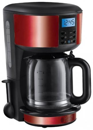 Кофеварка Russell Hobbs 20682-56 1000 Вт черный красный russell hobbs 20682 56 legacy red кофеварка