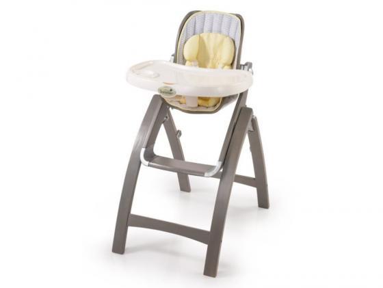 Стульчик для кормления Summer Infant BentWood серый