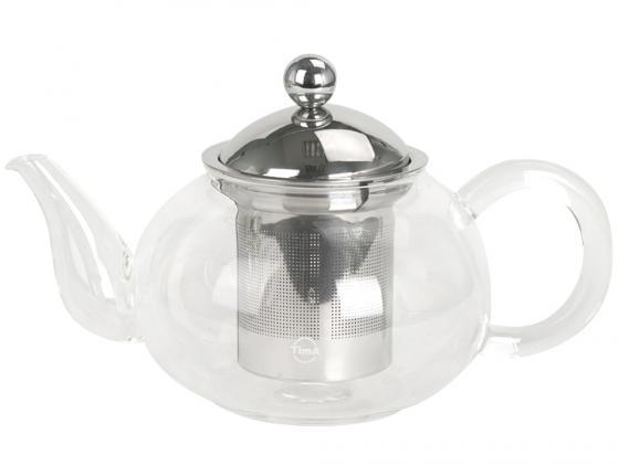 Чайник заварочный Tima Жасмин TG-1500 1.5 л стекло прозрачный чайник tima 2 5 л к 15
