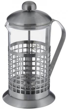 Френч-пресс Tima Бисквит PB-350 0.35 л металл/стекло серебристый tima pb 800