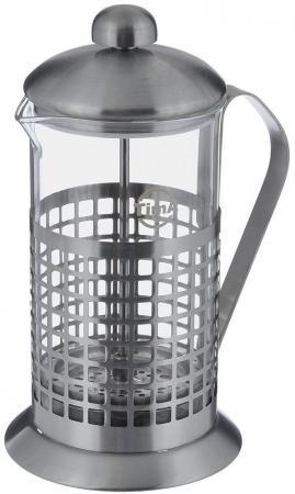Френч-пресс Tima Бисквит PB-100 1 л металл/стекло серебристый tima pb 800