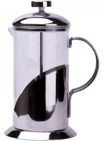 Френч-пресс Tima Тирамису FT-350 0.35 л металл/стекло серебристый линейка berlingo 20см пластик прозрачная тонированная