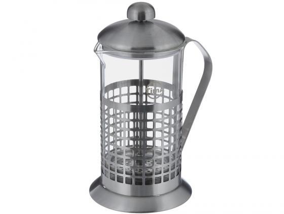 Френч-пресс Tima Бисквит PB-800 0.8 л металл/стекло серебристый tima pb 800