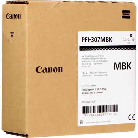 Картридж Canon PFI-307 MBK для iPF830/840/850 черный 9810B001 картридж canon pfi 307 y жёлтый