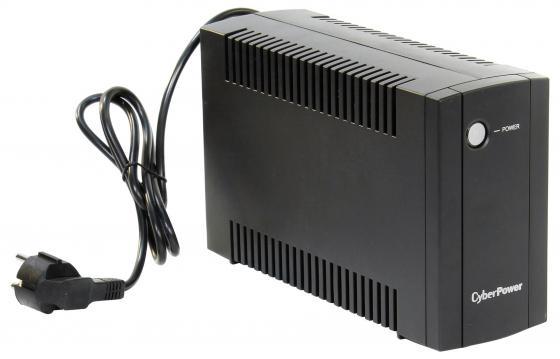 ИБП CyberPower 650VA/360W UT650EI черный ибп cyberpower utc650e 650va 360w 2 euro