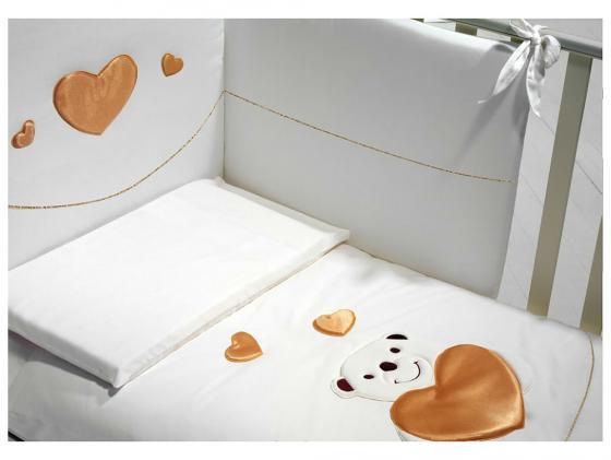 Постельный сет Baby Expert Romantico (белый) кровать baby expert кровать baby expert abbracci by trudi крем