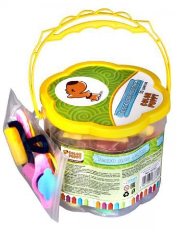 Тесто для лепки: 20 цветов, 560г, формочки, инструменты Color Puppy 63781 аккумулятор для для barnes