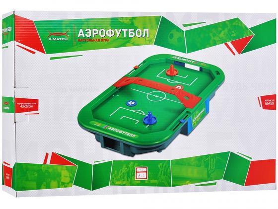 Настольная игра спортивная X-Match Аэрофутбол 66450 x match настольная игра футбол