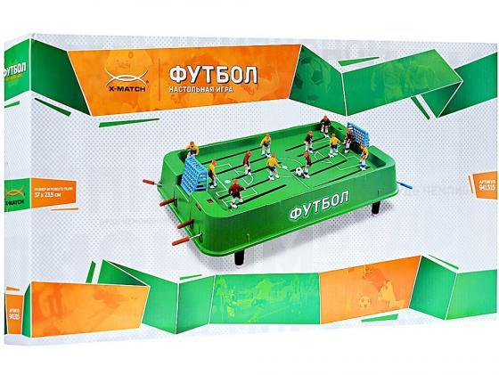 Настольная игра спортивная X-Match Футбол 941315 x match настольная игра хоккей x match 87909