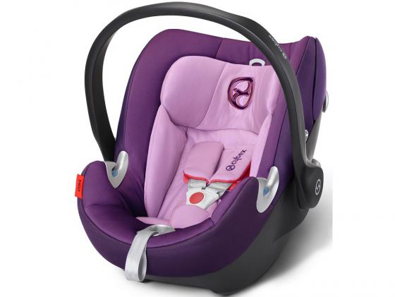 Автокресло Cybex Aton Q (grape juice) автокресло cybex cloud q fe butterfly