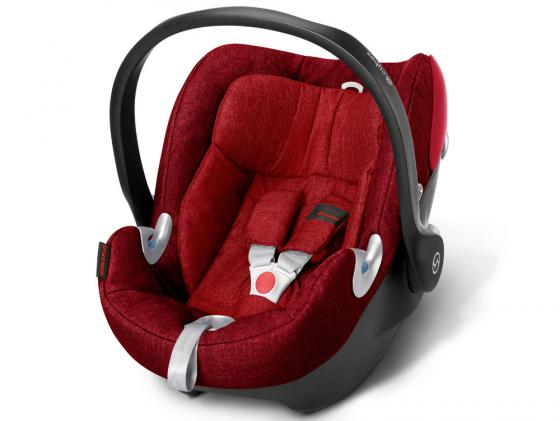 Автокресло Cybex Aton Q Plus (hot & spicy red) автокресло cybex cloud q fe butterfly