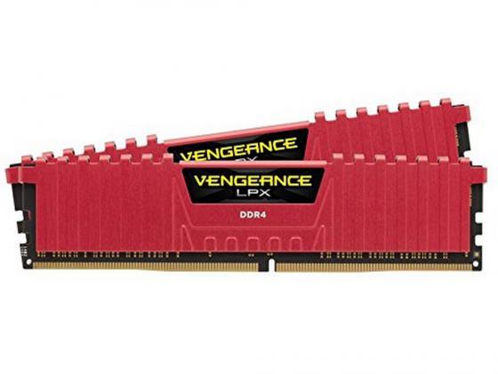 Оперативная память 16Gb (2x8Gb) PC4-17000 2133MHz DDR4 DIMM CL13 Corsair CMK16GX4M2A2133C13R