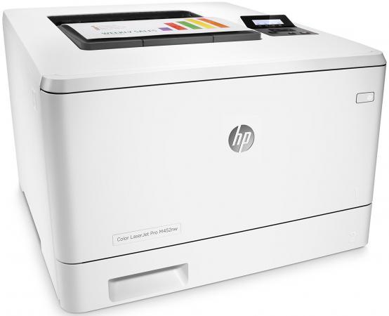 Принтер HP Color LaserJet Pro M452nw CF388A цветной A4 28ppm 600x600dpi 256Mb Ethernet Wi-Fi USB hp color laserjet pro cp1025nw airprint