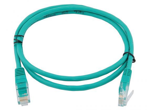 Патч-корд 5E категории UTP 1м зеленый