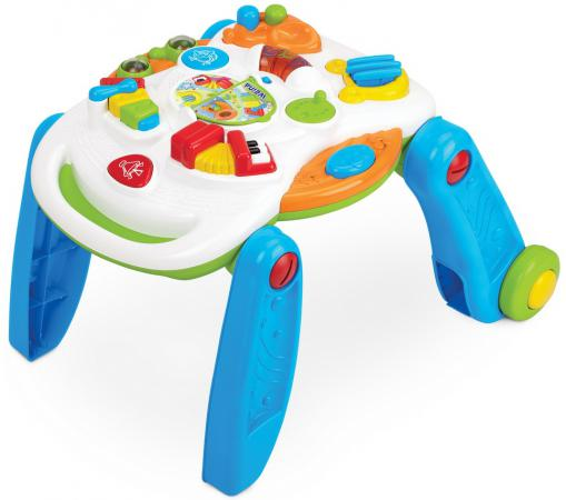 Ходунки-развивающий столик Weina ходунки weina 3 в 1 музыкальный руль