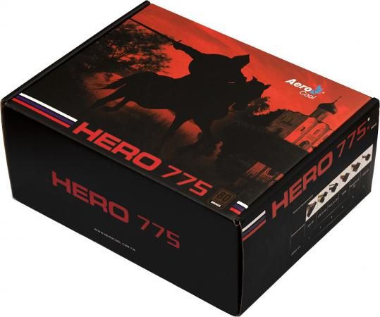 Фото - Блок питания ATX 775 Вт Aerocool Hero 775 блок питания accord atx 1000w gold acc 1000w 80g 80 gold 24 8 4 4pin apfc 140mm fan 7xsata rtl
