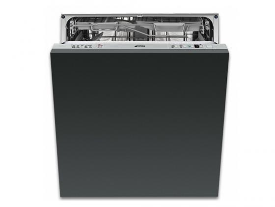 Встраиваемая посудомоечная машина Smeg STA6539L3 черный smeg fab30lro1