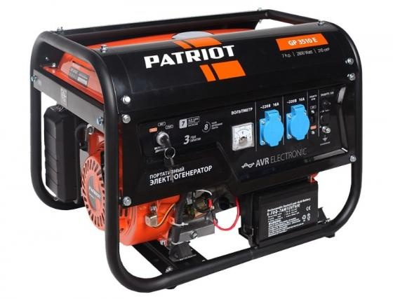 Генератор Patriot SRGE 3510E снегоуборщик patriot ps 710 е
