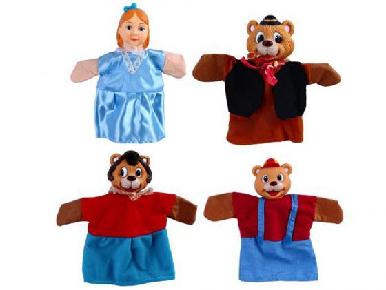 Игровой набор Жирафики Кукольный Театр - Три медведя 4 предмета 68315 три медведя три медведя кофточка happy animals молочная с мишкой