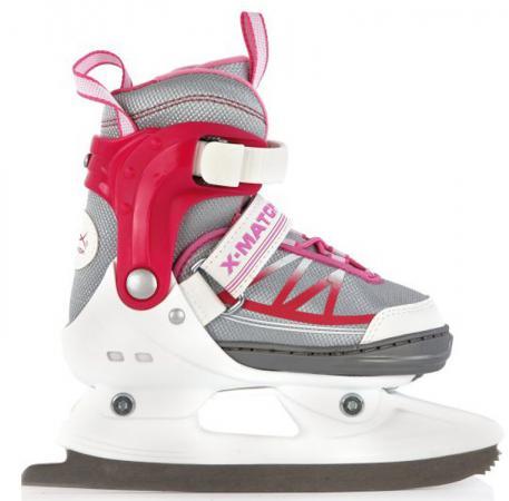 Коньки прогулочные X-Match, р. 33-36, для девочки X-Match 64601 ботинки для девочки salomon x ultra цвет розовый l39865100 размер 38 36 5