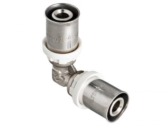 Угольник пресс 16 VALTEC VTm.251.N.001616 гильза для пресс фитинга 16 valtec