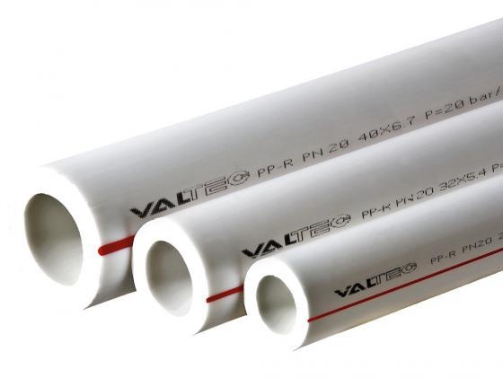 ТРУБА PP-R, PN 20, 32 MM белый VALTEC VTp.700.0020.32 4м труба полипропиленовая pn 20 диам 32 1 1м п