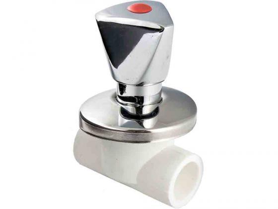 Вентиль PPR хромированный 20мм VALTEC VTp.713.0.020 обвод ppr 32мм