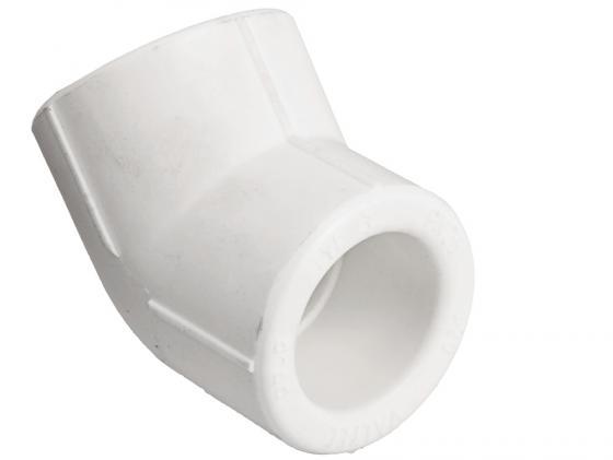 Угольник 45 PPR 50мм VALTEC VTp.759.0.050 труба pp alux арм алюминием pn 25 63 mm белый valtec vtp 700 al25 63 4м